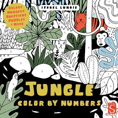 Jungle Color by Numbers - Lundie, Isobel
