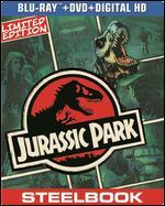 Jurassic Park [2 Discs] [Includes Digital Copy] [SteelBook] [Blu-ray/DVD]