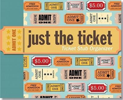 Just the Ticket: Ticket Stub Organizer - Peter Pauper Press (Creator)