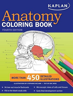 Kaplan Anatomy Coloring Book - McCann, Stephanie, and Wise, Eric