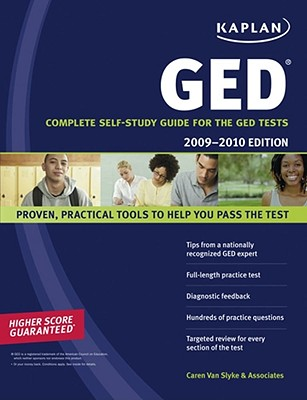 Kaplan GED: Complete Self-Study Guide for the GED Tests - Van Slyke, Caren