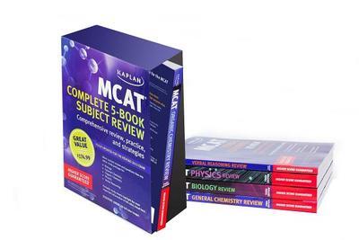 Kaplan MCAT Review Complete 5-Book Subject Review - Kaplan