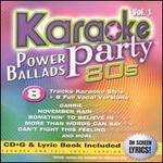 Karaoke Party! Power Ballads 80s, Vol. 1