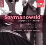 Karol Szymanowski: Symphonies 2-4; Harnasie
