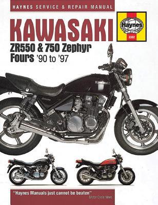 Kawasaki ZR550 & 750 Zephyr Fours (90-97) - Editors of Haynes Manuals