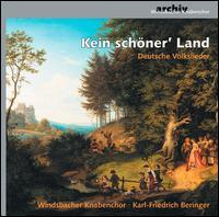 Kein schöner' Land: Deutsche Volkslieder - Windsbacher Knabenchor (boy's choir)