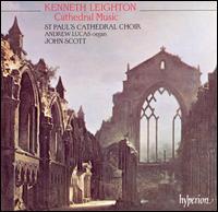 Kenneth Leighton: Cathedral Music - Andrew Lucas (organ); Jamie Hopkins (treble); Neil Mackie (tenor); Nigel Beavan (bass); Thomas Colwell (treble);...