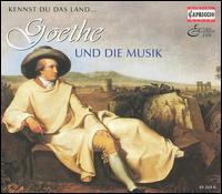 Kennst du das Land: Goethe und die Musik - Academy of St. Martin-in-the-Fields; Alexandrina Milcheva-Nonova (mezzo-soprano); Bo Skovhus (vocals);...