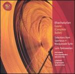 Khachaturian: Gayne (Complete Ballet); Selections from Spartacus; Masquerade Suite - David Theodore (oboe); James Brown (horn); John Wilbraham (cornet); Marie Goossens (harp); Martin Gatt (bassoon);...