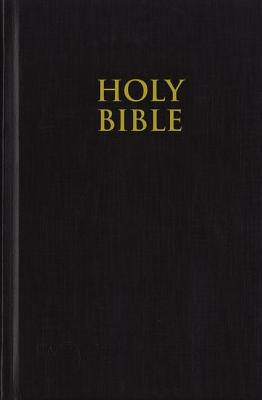 KJV, Pew Bible, Large Print, Hardcover, Black, Red Letter Edition - Zondervan Publishing