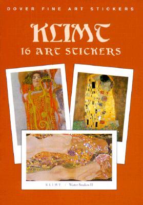 Klimt: 16 Art Stickers - Klimt, Gustav