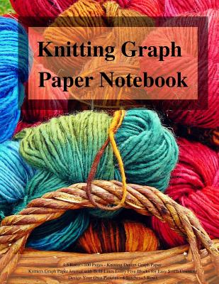 9781720758860 Knitting Graph Paper Notebook 4 5 Ratio 100 Pages