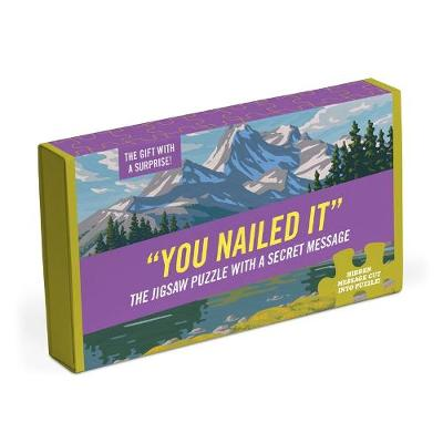 Knock Knock You Nailed it Message Puzzle -