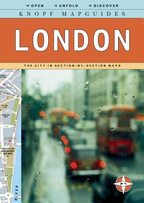 Knopf Mapguides: London: The City in Section-By-Section Maps - Knopf Guides