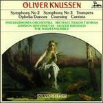 Knussen: Cantata Op15; Symphony No3 - Christopher van Kampen (cello); David Purser (trombone); Edward Pillinger (clarinet); Elaine Barry (soprano);...
