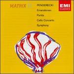 Krzysztof Penderecki: Emanationen; Partita; Cello Concerto; Symphony