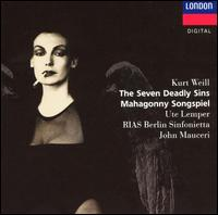 Kurt Weill: The Seven Deadly Sins; Mahagonny Songspiel - Helmut Wildhaber (tenor); Jeffrey Cohen (piano); Manfred Jungwirth (bass); Peter Haage (tenor); Susanne Tremper (vocals);...