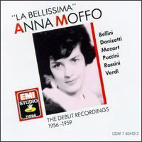 La Bellissima: The Debut Recordings - Anna Moffo (soprano); Carlo Badioli (vocals); Giuseppe di Stefano (tenor); Manuel Spatafora (vocals); Maria Callas (soprano); Nicola Zaccaria (bass); Rolando Panerai (vocals)