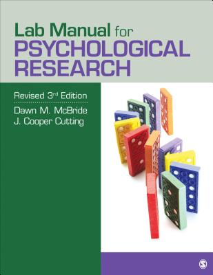 Lab Manual for Psychological Research - McBride, Dawn M