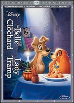Lady and the Tramp [Diamond Edition] [French] [Blu-ray/DVD]