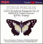 Lalo: Symphonie Espagnole, Op. 21; Sibelius: Violin Concerto; Ravel; Tzigane