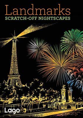 Landmarks: Scratch-Off NightScapes: Scratch-Off NightScapes - Lago Design
