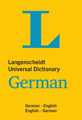Langenscheidt Universal Dictionary German - Langenscheidt