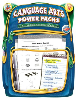 Language Arts Power Packs, Grade 4 - Frank Schaffer Publications (Compiled by)