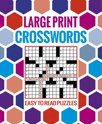 Large Print Crosswords: Easy to Read Puzzles - Arcturus Publishing