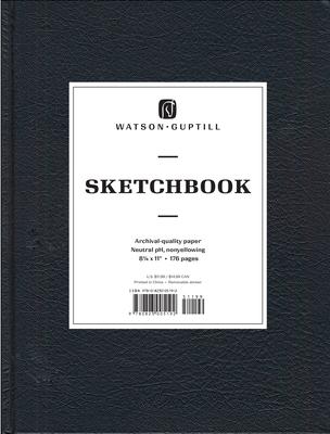 Large Sketchbook (Kivar, Black) - Watson-Guptill