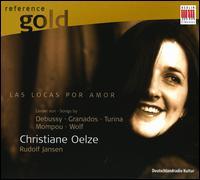 Las locas por amor - Christiane Oelze (soprano); Rudolf Jansen (piano)