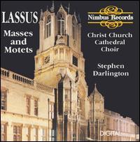 Lassus: Masses and Motets - Andrew Carwood (tenor); David Le Monnier (bass); Matthew Vine (tenor); Sarah Hampson (vocals); Stephen Carter (alto);...