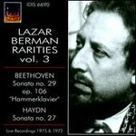 Lazar Berman Rarities, Vol. 3