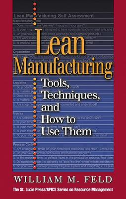 Lean Manufacturing - Feld, William M