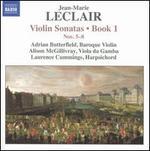 Leclair: Violin Sonatas, Book 1