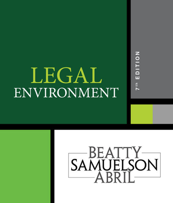 Legal Environment - Beatty, Jeffrey F