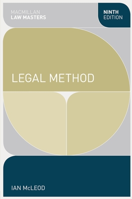 Legal Method - McLeod, Ian