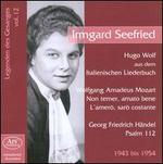 Legenden des Gesanges, Vol. 12: Irmgard Seefried