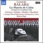 Leonardo Balada: La Muerte de Colón