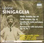 Leone Sinigaglia: Violin Sonata; Cello Sonata; Cavatina; Romanze