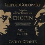 Leopold Godwosky: Studien über die Etüden von Chopin, Vol. 1: Nos. 1-20