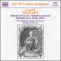 Leopold Mozart: Sinfonias - New Zealand Chamber Orchestra; Donald Armstrong (conductor)