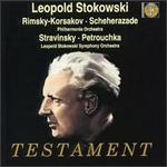Leopold Stokowski conducts Scheherazade and Petrouchka