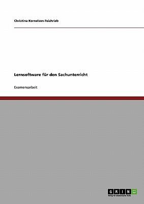 Lernsoftware Fur Den Sachunterricht - Kornelsen-Teichrieb, Christina