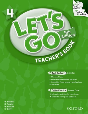 Let's Go: 4: Teacher's Book With Test Center Pack -