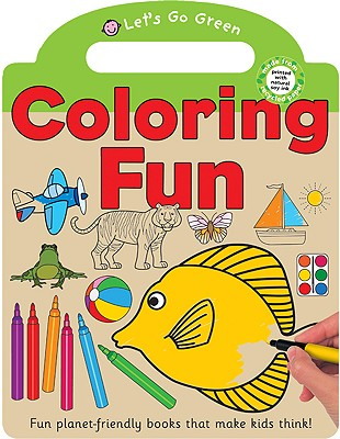 Let's Go Green Coloring Fun - Priddy, Roger