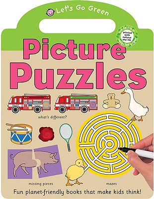 Let's Go Green Picture Puzzles - Priddy, Roger
