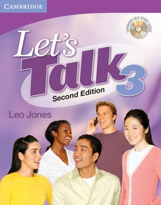 Let's Talk Level 3 Student's Book with Self-Study Audio CD - Jones, Leo