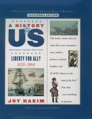 Liberty for All: California Edition - Hakim, Joy, and Brooks, Diane L (Consultant editor)