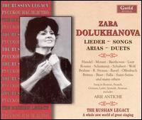 Lieder, Songs, Aria, Duets - Alexander Dolukhanian (piano); Alexander Yerokhin (piano); Alexei Ivanov (baritone); Anton Ossipovich Bernard (piano);...